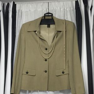 CLASSIQUE ENTIER Jacket with Matching Skirt sz 4